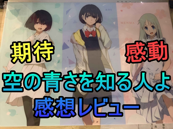 感動に期待出来る!映画『空の青さを知る人よ』感想!(10%ネタバレ!)