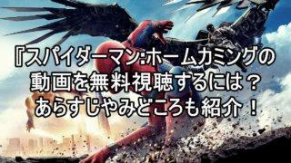 スパイダーマン:ホームカミングの動画をフルで無料視聴する方法!視聴済みの主によるおすすめ見所やあらすじも紹介!